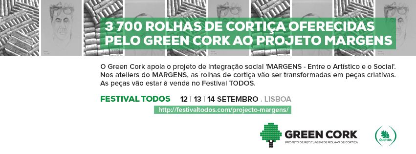 Green Cork apoia projeto Margens